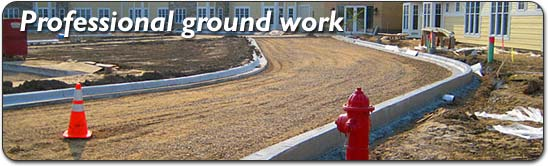 Ground work and structural Builing services